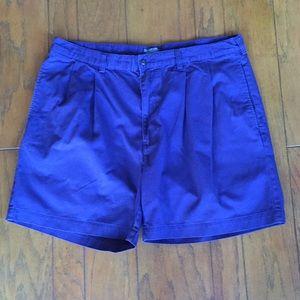 Men's Navy Blue Shorts